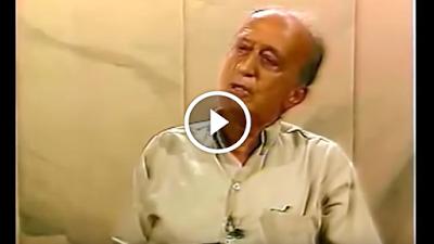 Vídeo mostra quando Millôr aviltou Chico Buarque com apenas uma frase: 'Desconfio de todo idealista que lucra com seu ideal'; veja vídeo